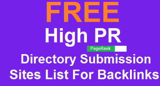 Quality Backlink Generation Directory Submission Websites List