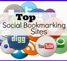Best Social Bookmarking Submission Sites List USA, UK, Canada, India