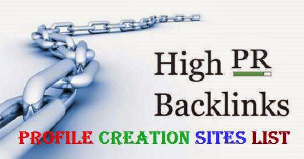 high pr profile creation websites list