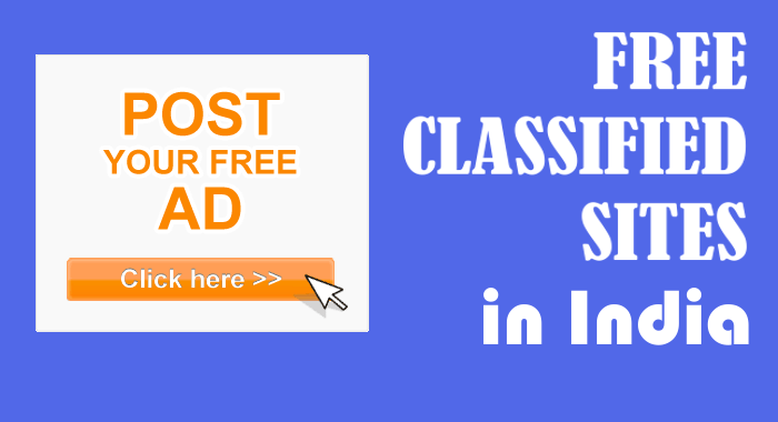Instant Approval Classifieds Sites List In India