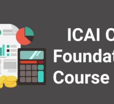 ICAI CA Foundation Fees for Registration and  Exam