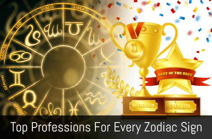 top professions for every zodiac signs